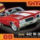 Plastic Kits AMT (new) 1:25 1969 Olds W-30 442 Car