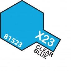 Paint Tamiya Color Mini Acrilic Paint X-23 Clear Blue