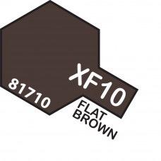 Paint Tamiya Color Mini Acrylic Paint XF-10 Flat Brown