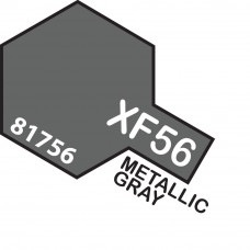 Paint Tamiya Color Mini Acrylic Paint XF-56 Metalic Grey