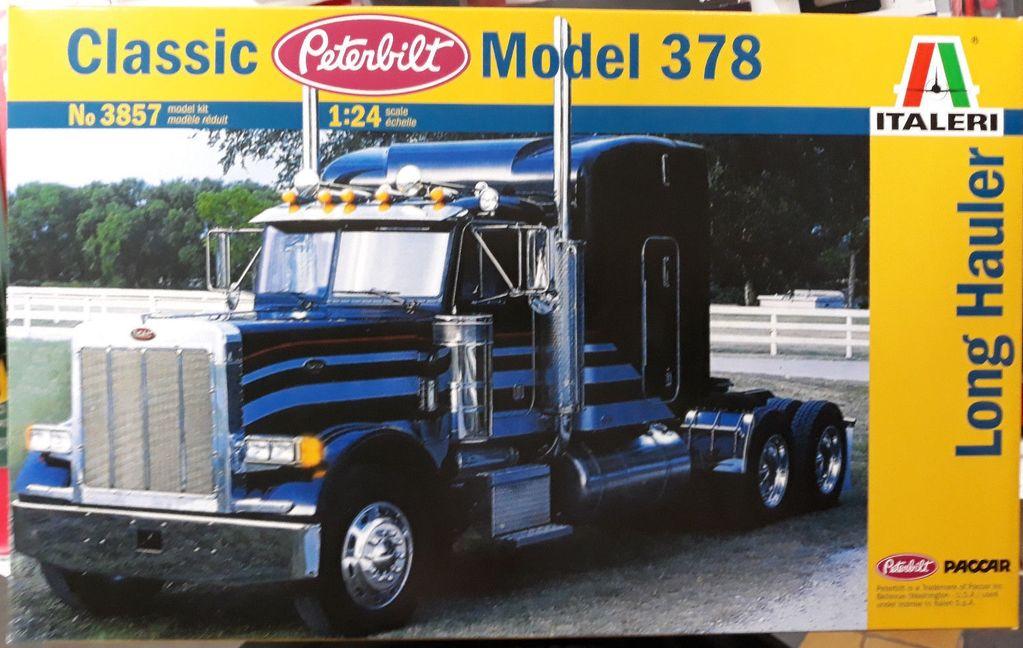 Plastic Kits ITALERI (N) Classic Peterbilt Model 378 Long Hauler