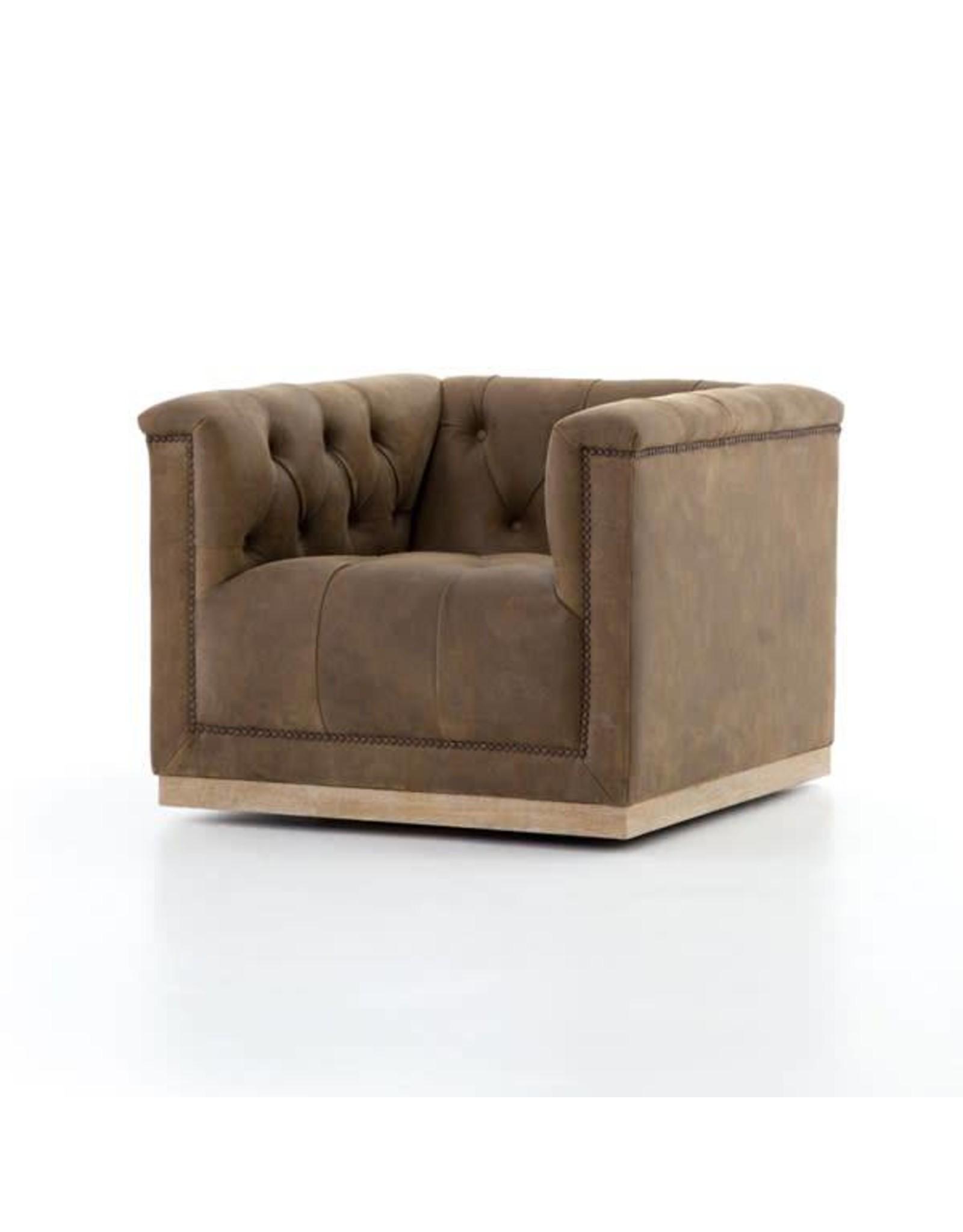 Maxx Swivel Chair-Umber Grey