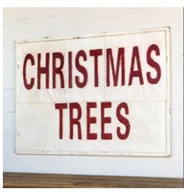 Vintage Style Christmas Tree Sign