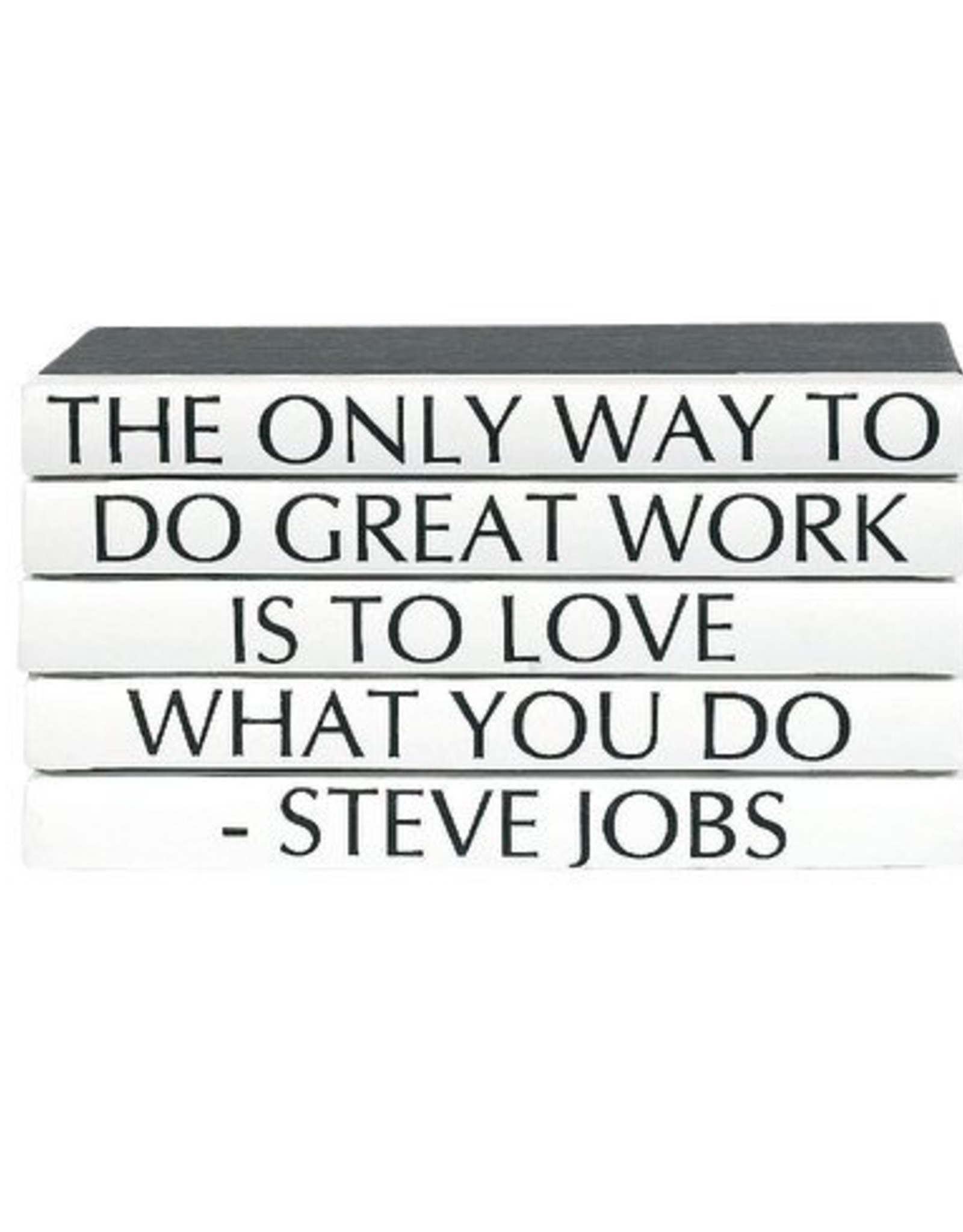"Website Steve Jobs ""The Only Way to Do Great Work...."""