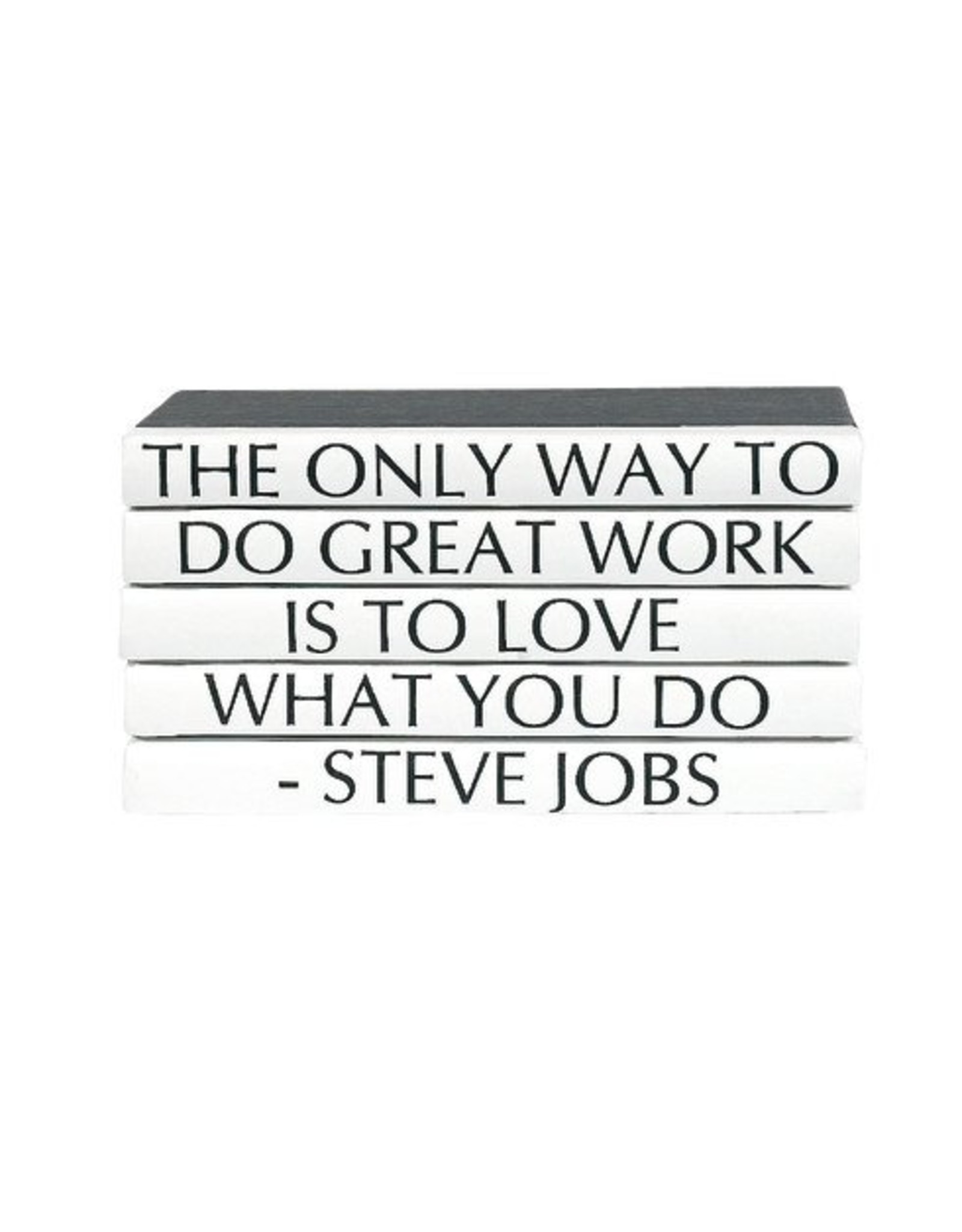 """Website Steve Jobs """"The Only Way to Do Great Work...."""""""