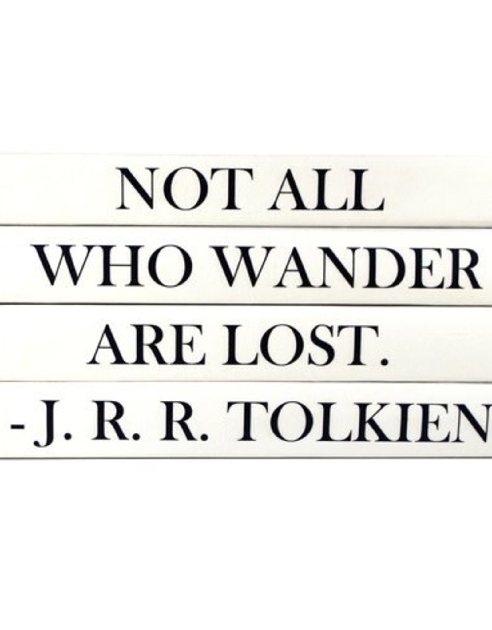 "Website JRR Tolkien ""Not All Who Wander Are Lost"""