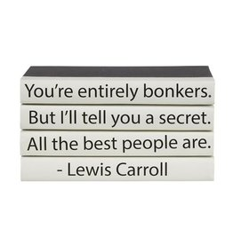 """Website Lewis Carroll """"You're Entirely Bonkers..."""""""