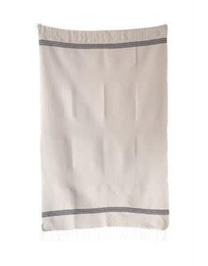 Cotton Bath Towel w/ Fringe