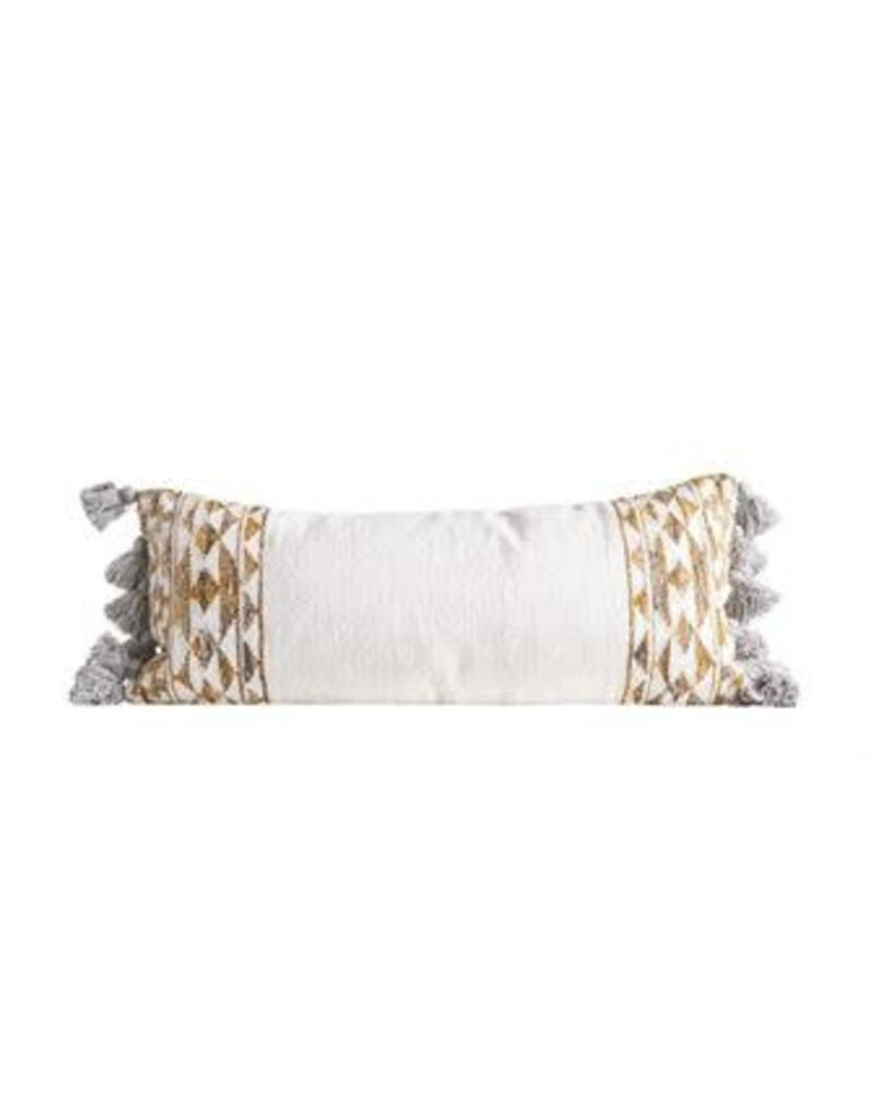 Hand-Woven Wool Kilim Pillow