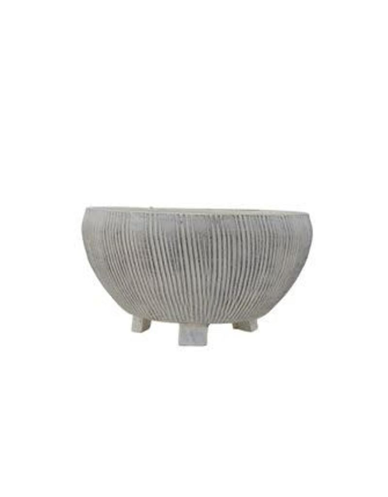 Footed Textured Planter