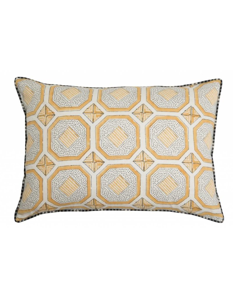Evara-Jaune Pillow 22""