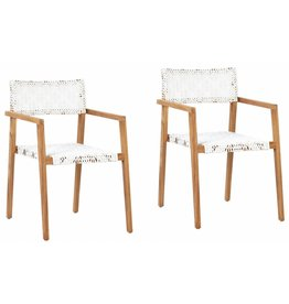 Deeta Chair w/ White Wash