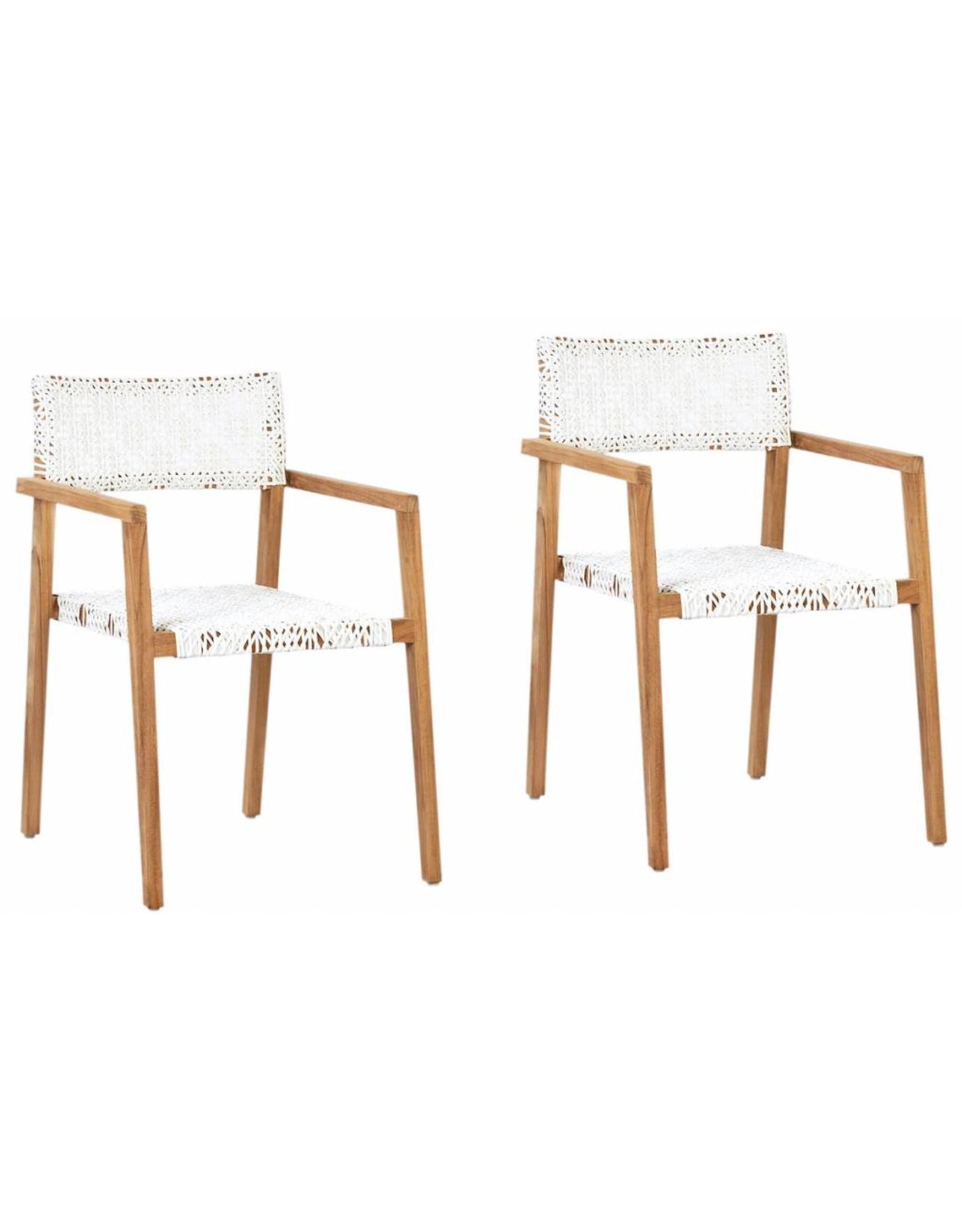 Deeta Chair w/ White Wash