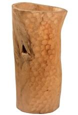 Teak Vase