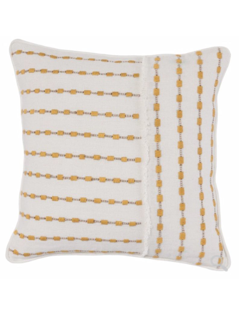 Katia Ivory Sunflower Pillow 20""