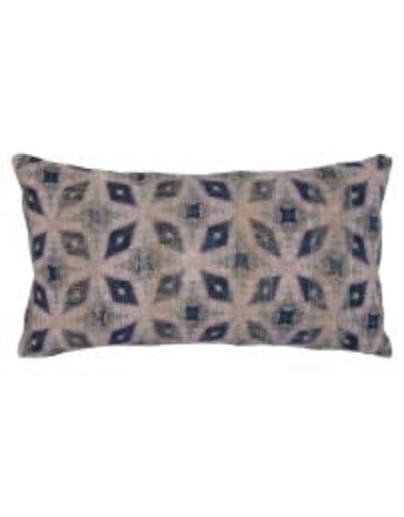 "Julian Midnight Multi Pillow 14 x 26"""