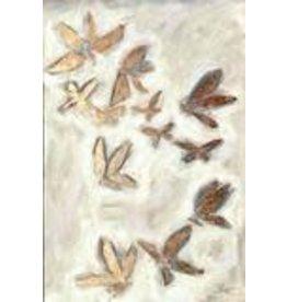 """Elaine Gleason Golden Butterflies 18"""" x 24"""""""