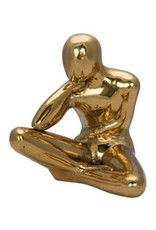 Brass Patience Sculpture