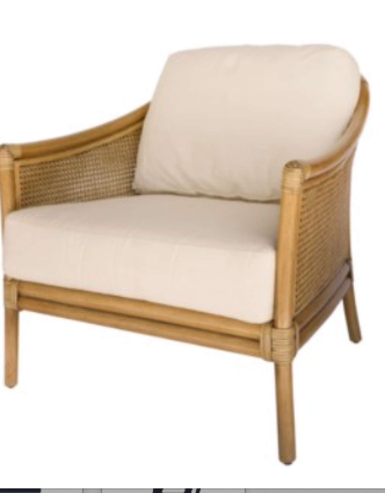 Tivoli Lounge Chair in Nutmeg