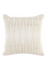 Avery Ivory/Natural Pillow 20""
