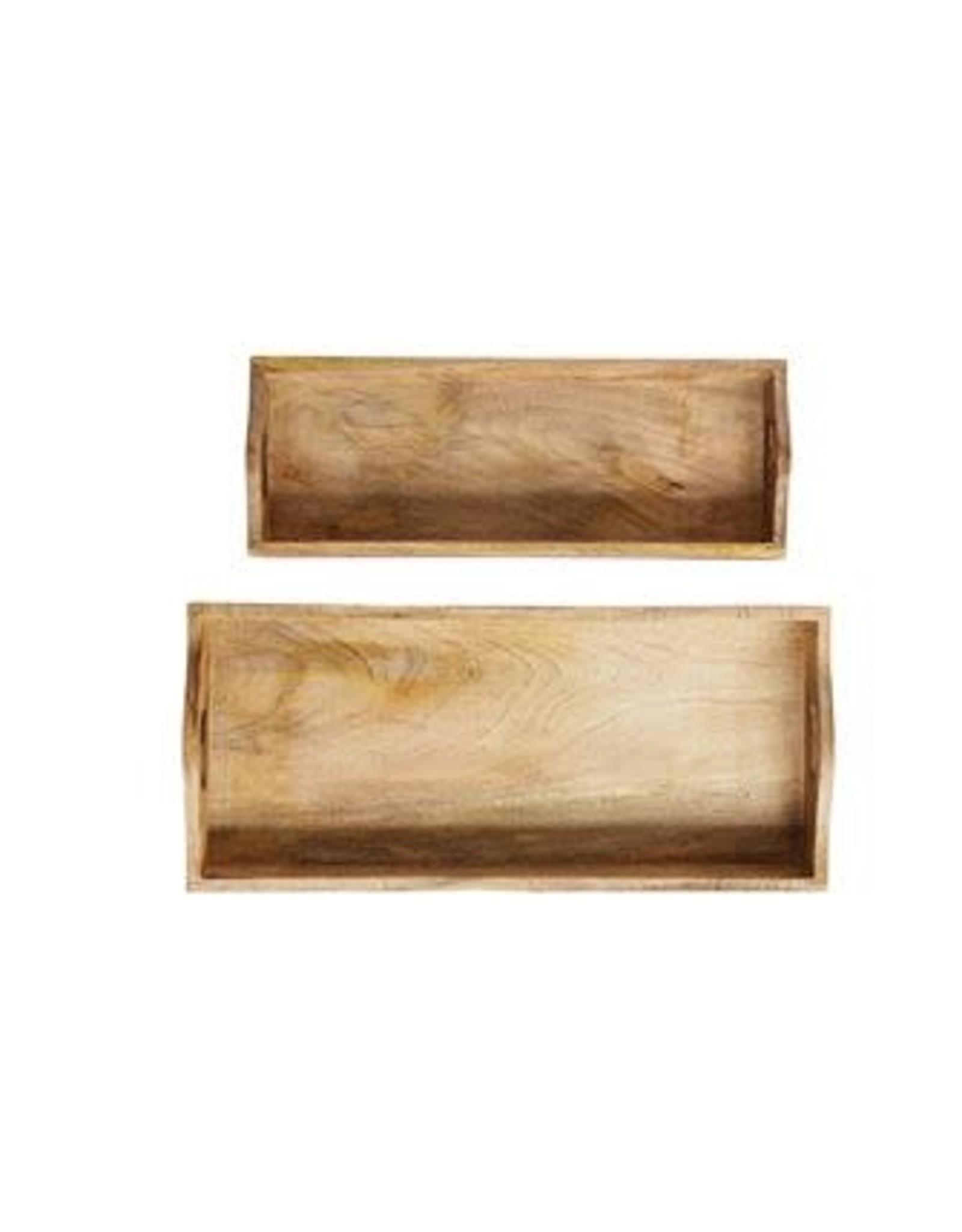 Rectangle Mango Wood Tray - large