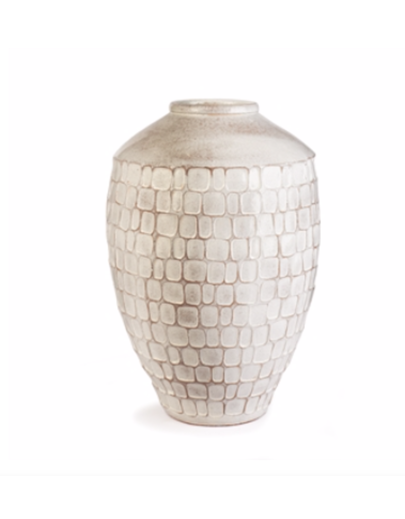 """Cape May Hammered Urn 13.5"""""""