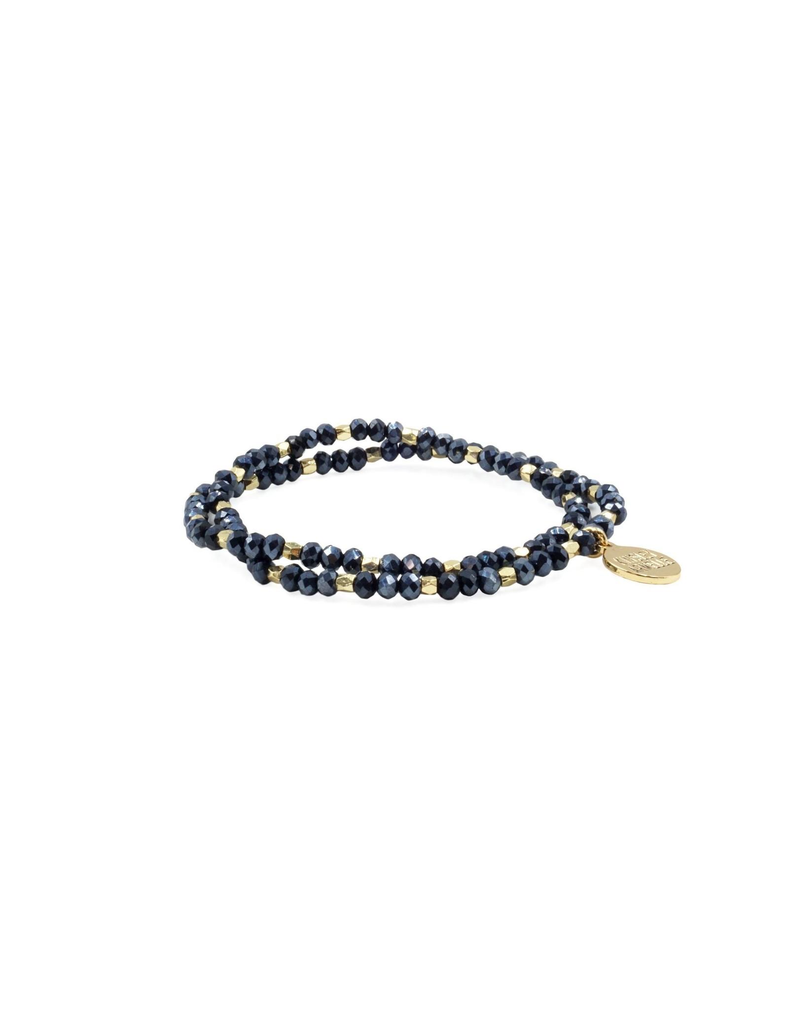 Indigo Wrap Bracelet