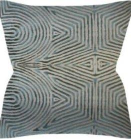 """Website Pravam Flax/Jade Pillow 14x20"""""""
