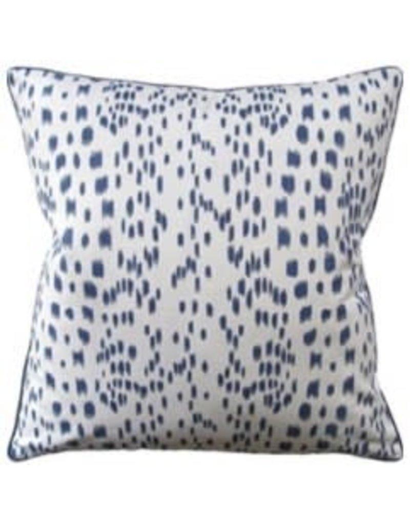 """Les Touches Blue Pillow 22"""""""