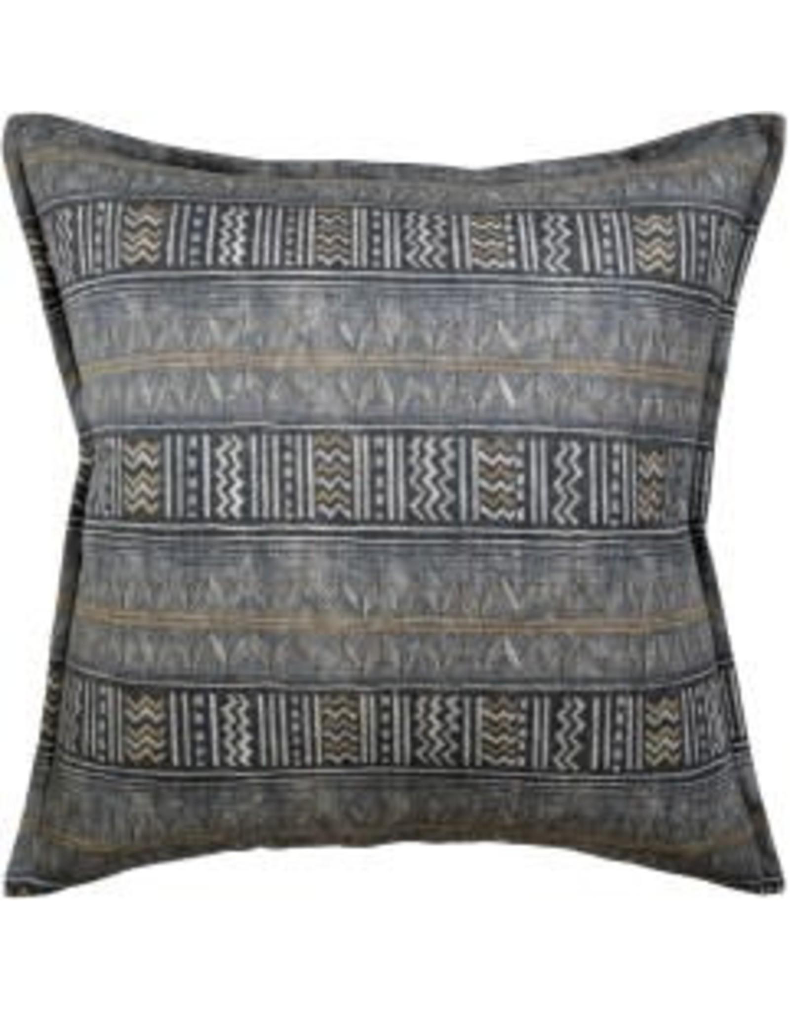 """Los Feliz Charcoal Pillow 14x20"""""""