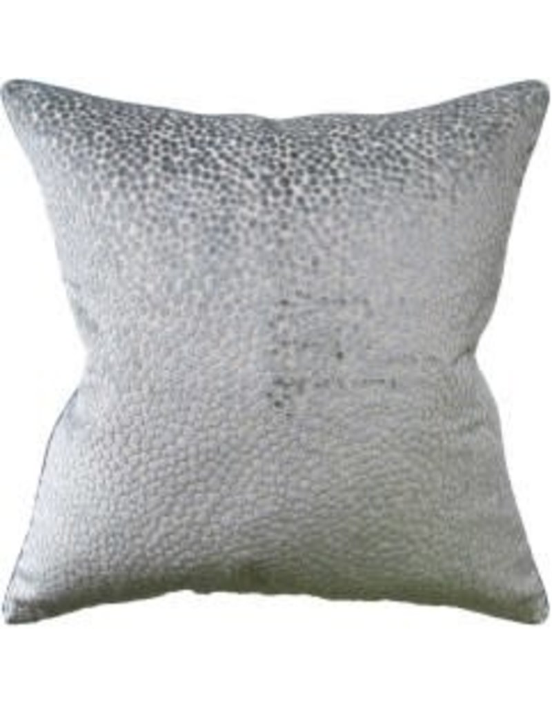"Polka Dot Plush Mineral Pillow 22"""