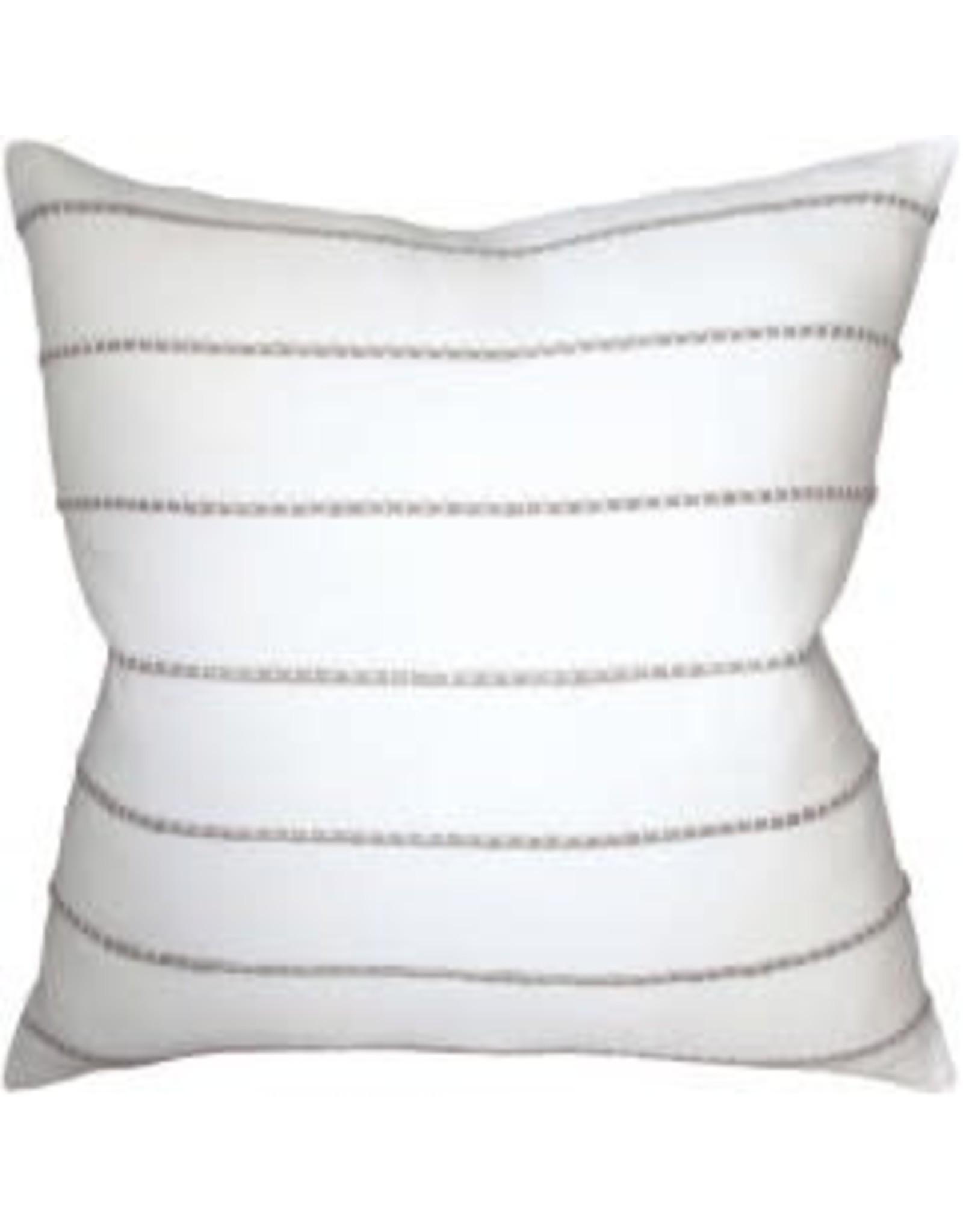 "Sonjamb Jute Straw Pillow 22"""