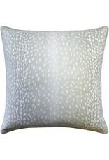 """Website Doe Dove Grey Pillow 22"""""""