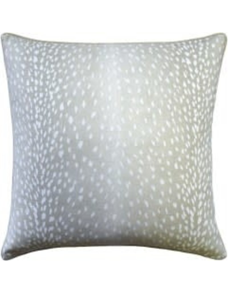 Doe Dove Grey Pillow 22""