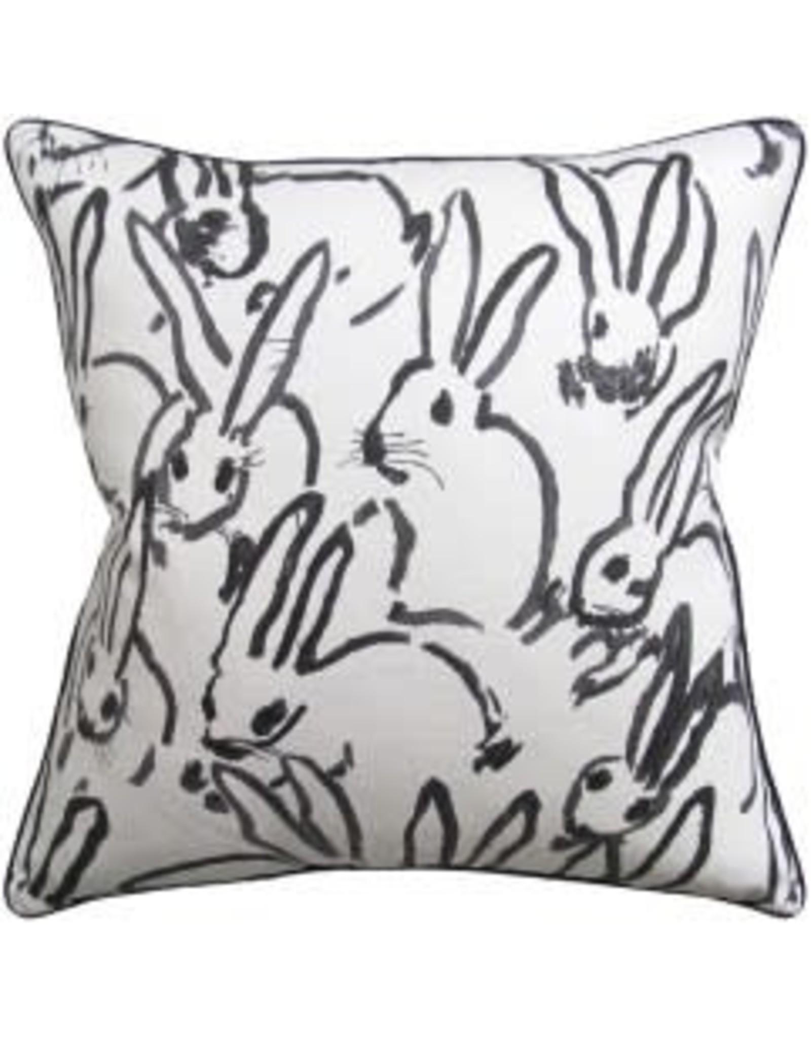 "Hutch Black Pillow 22"""