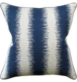Jiri Navy Pillow 22""