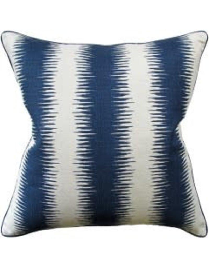 """Jiri Navy Pillow 22"""""""