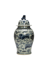 Stoneware Vintage Reproduction Ginger Jar - large