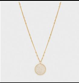 Website Pristine Coin Necklace - gold