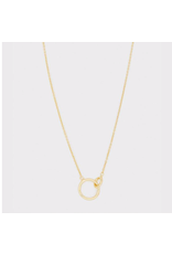 Wilshire Charm Adjustable Necklace - gold