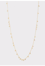 Website Chloe Mini Long Necklace - gold