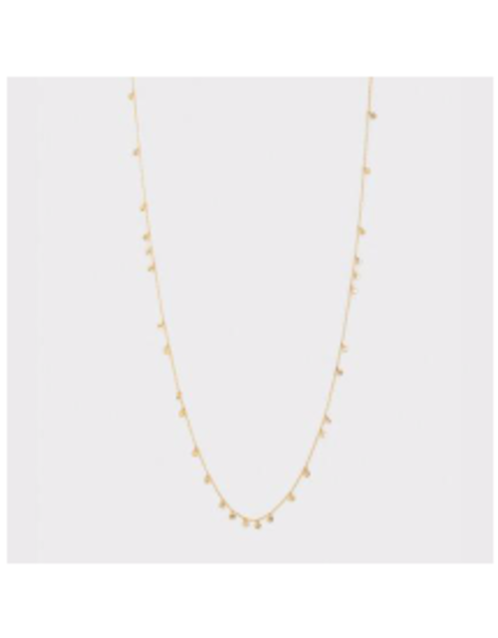 Chloe Mini Long Necklace - gold