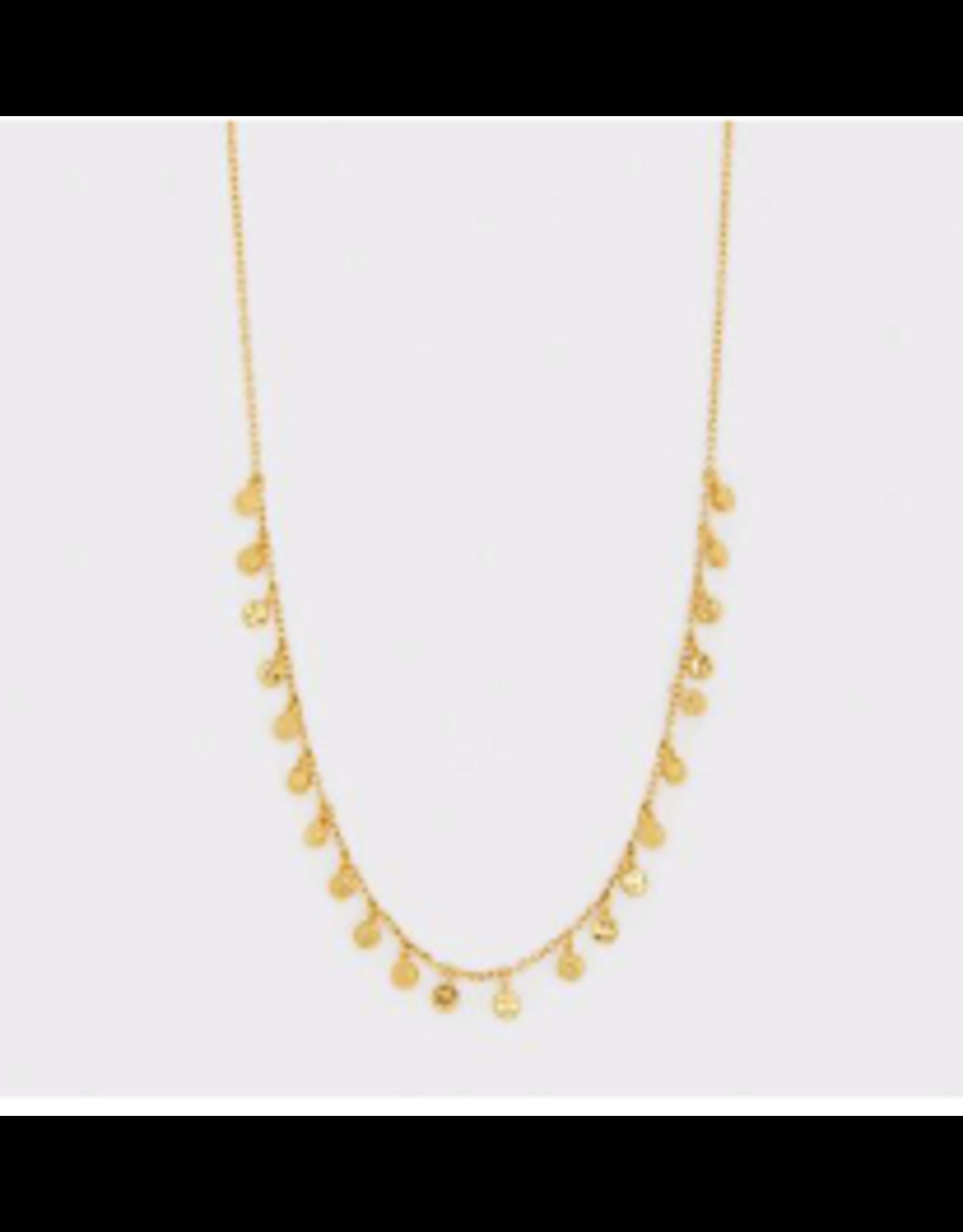 Website Chloe Mini Necklace - gold