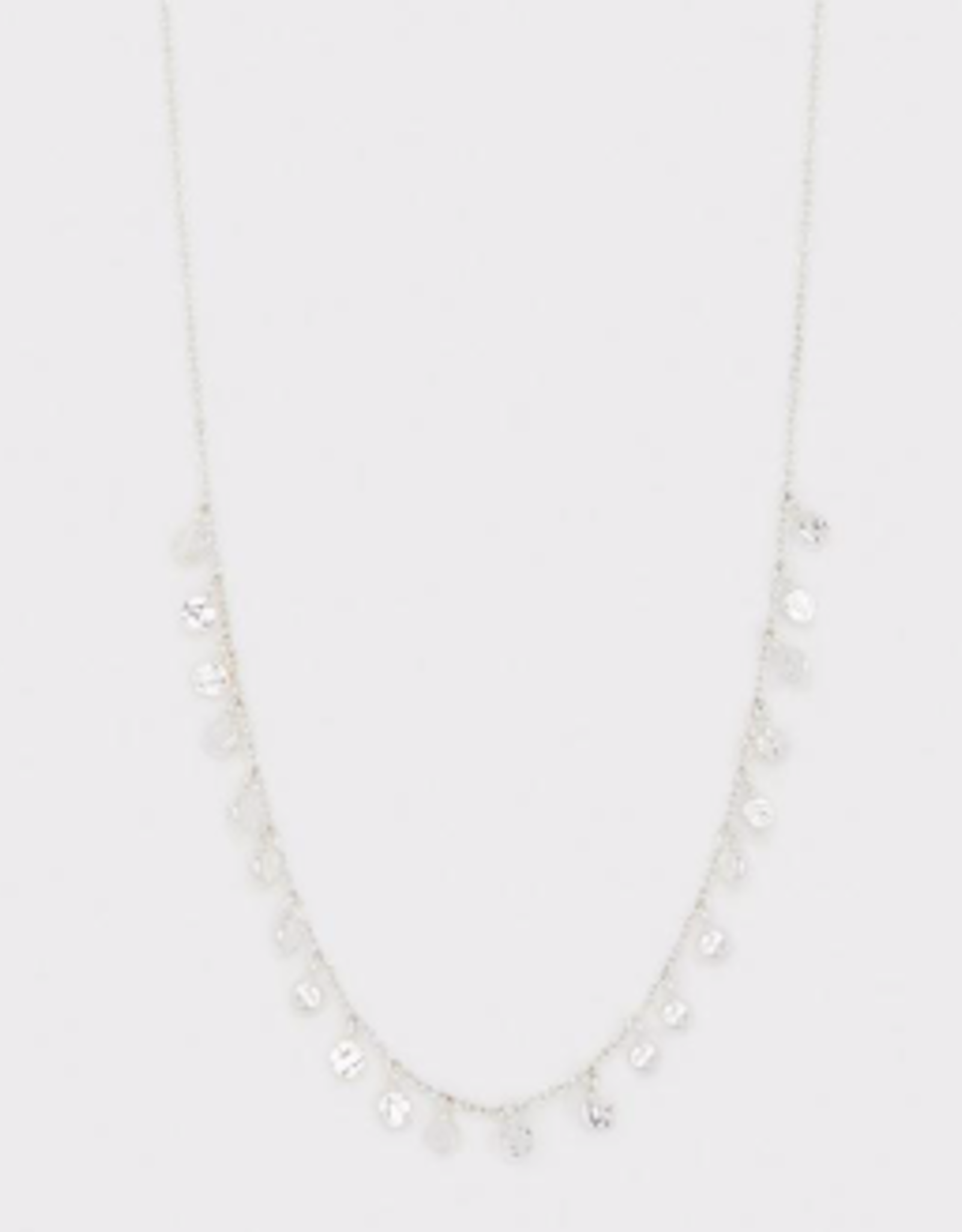 Website Chloe Mini Necklace - silver