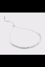 Website Laguna Adjustable Bracelet - silver