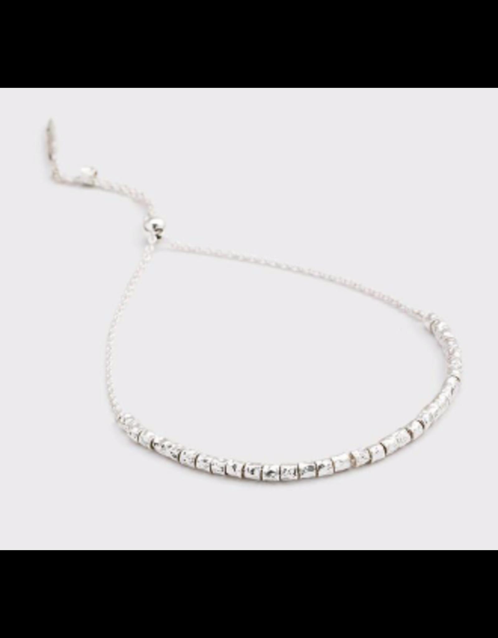 Laguna Adjustable Bracelet - silver