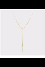 Laguna Adjustable Necklace - gold