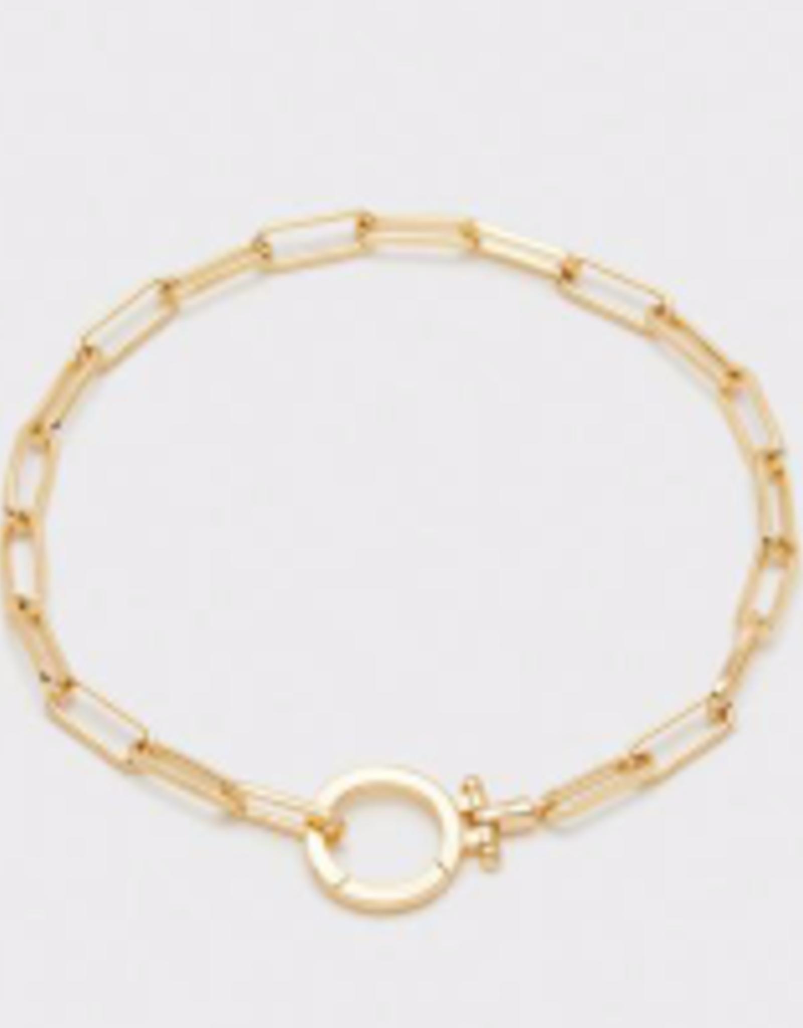 Website Park Bracelet in Gold