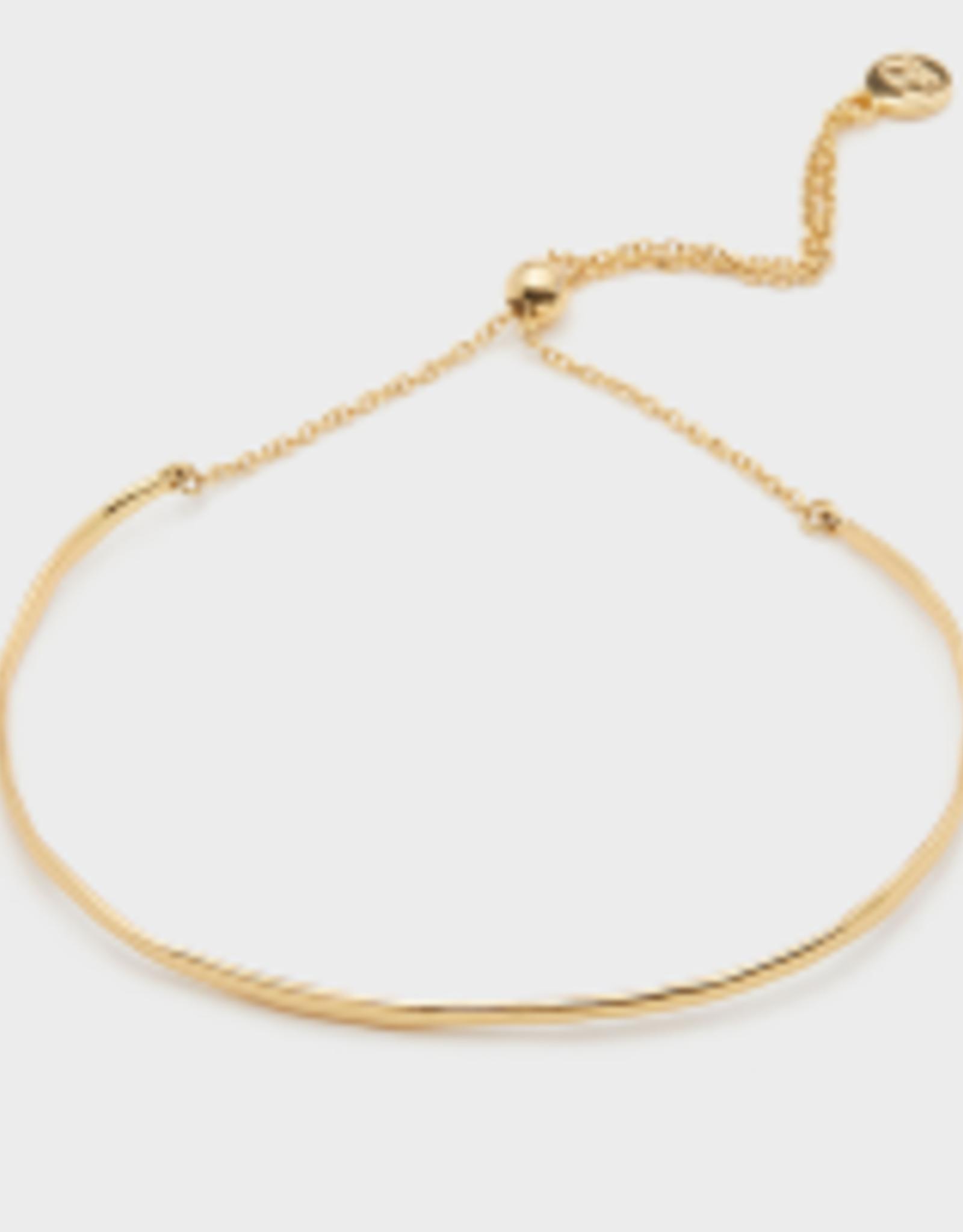 Website Taner Bar Bracelet in Gold