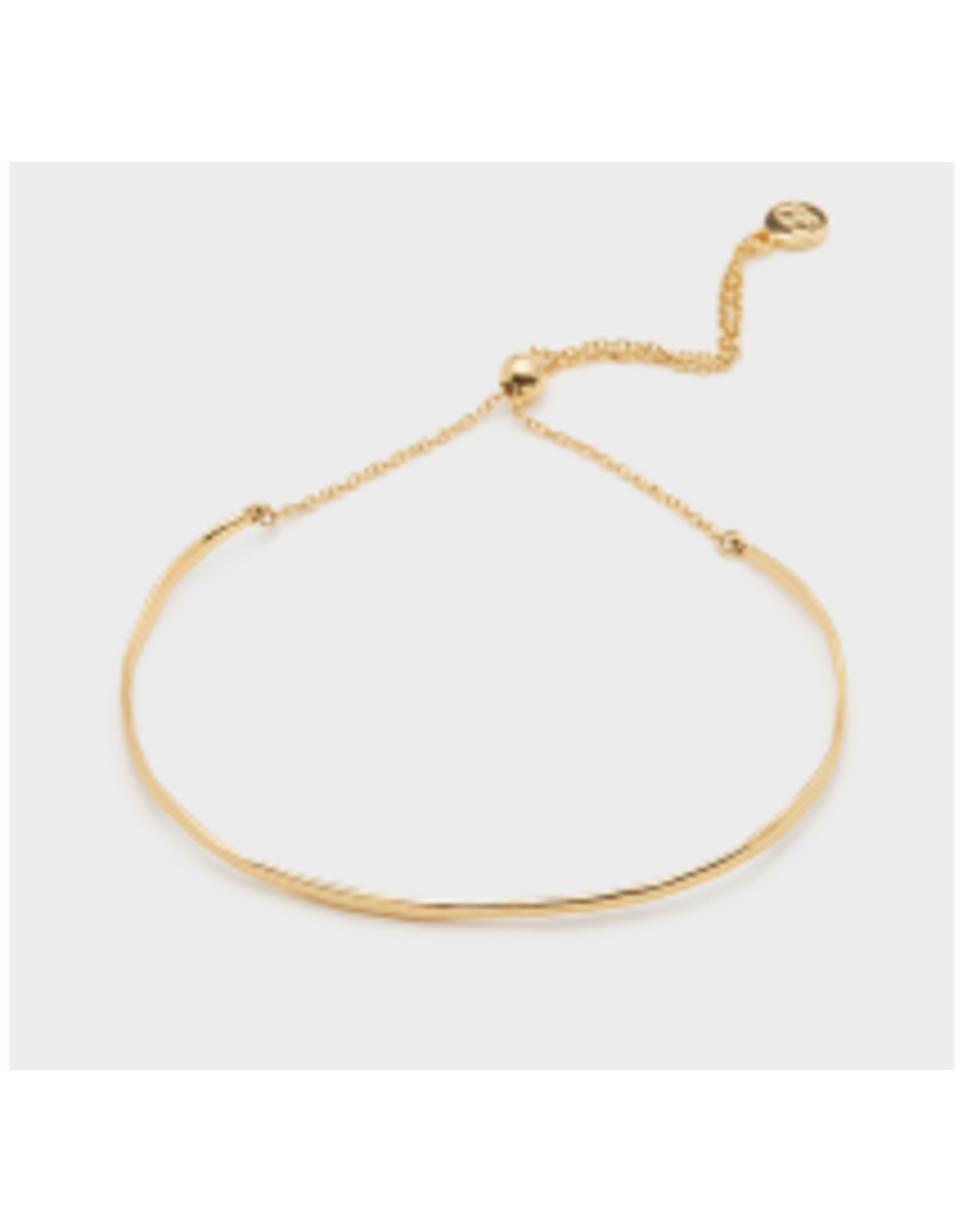 Taner Bar Bracelet in Gold